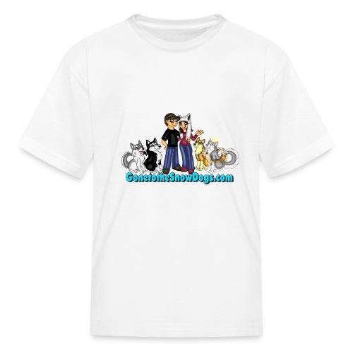 Snow Dogs Vlogs Logo - Kids' T-Shirt