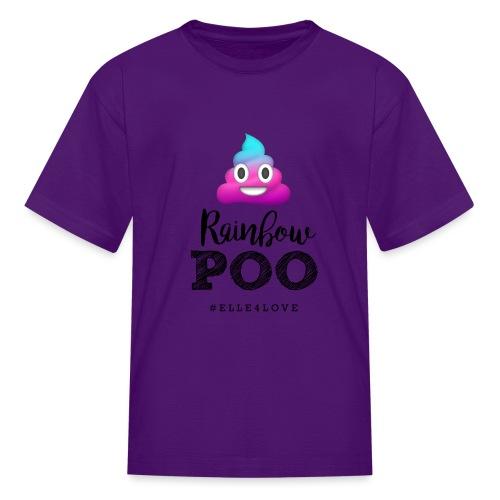 Rainbow Poo - Kids' T-Shirt