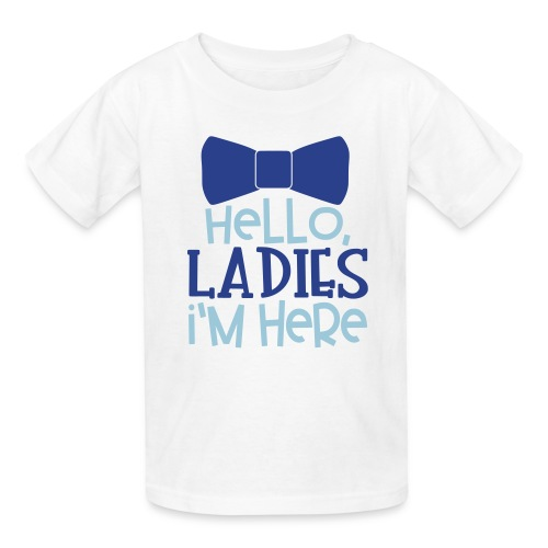 Hello Ladies, I'm Here - Kids' T-Shirt