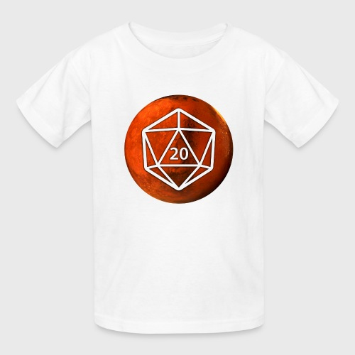 Mars d20 Astronomy Space - Kids' T-Shirt