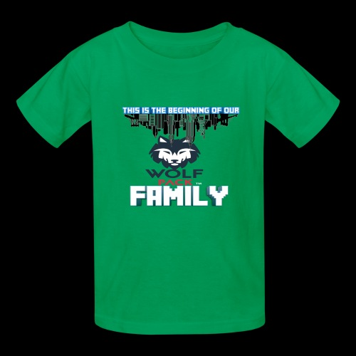 We Are Linked As One Big WolfPack Family - Kids' T-Shirt