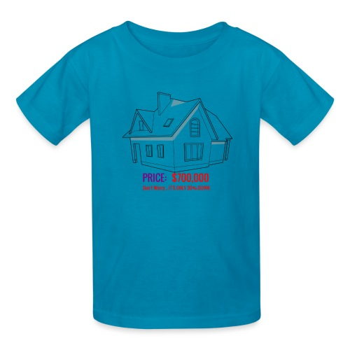 Fannie & Freddie Joke - Kids' T-Shirt