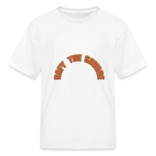 Rafy the savage - Kids' T-Shirt