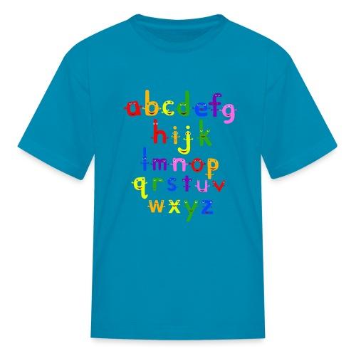 a to z t shirt 1 - Kids' T-Shirt