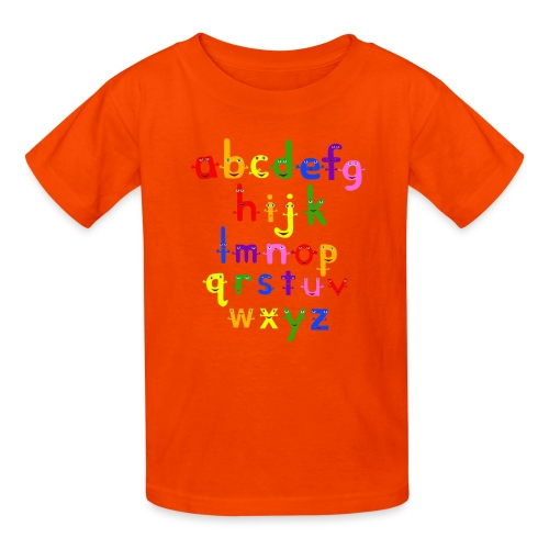 a to z t shirt 1 - Kids' T-Shirt