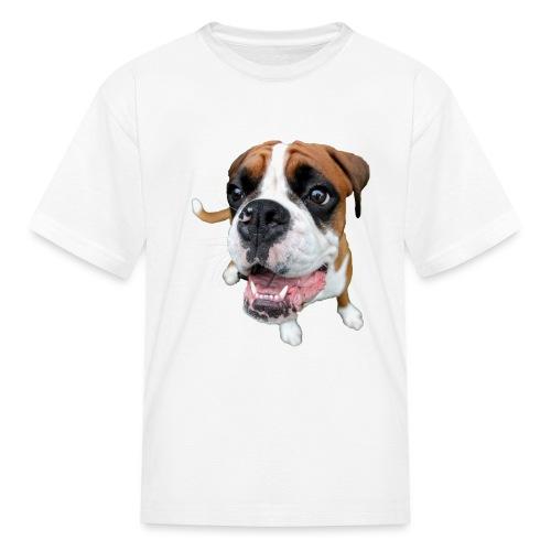 Boxer Rex the dog - Kids' T-Shirt
