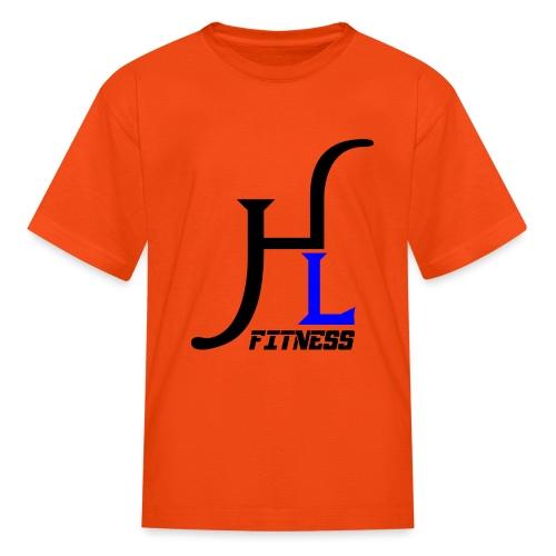 HIIT Life Fitness Blue - Kids' T-Shirt