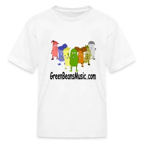 Green Bean's Music Apparel Black Logo - Kids' T-Shirt
