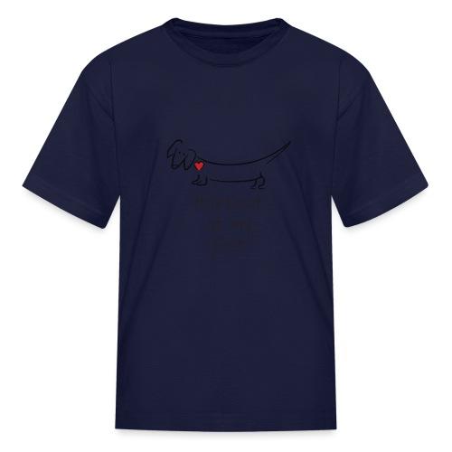 Heartbeat at my Feet - Kids' T-Shirt