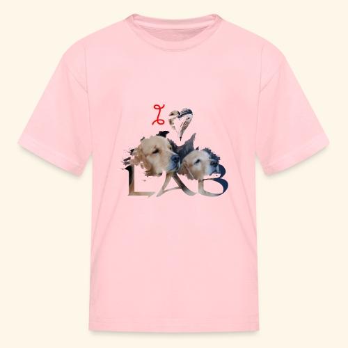 I love Lab - Kids' T-Shirt