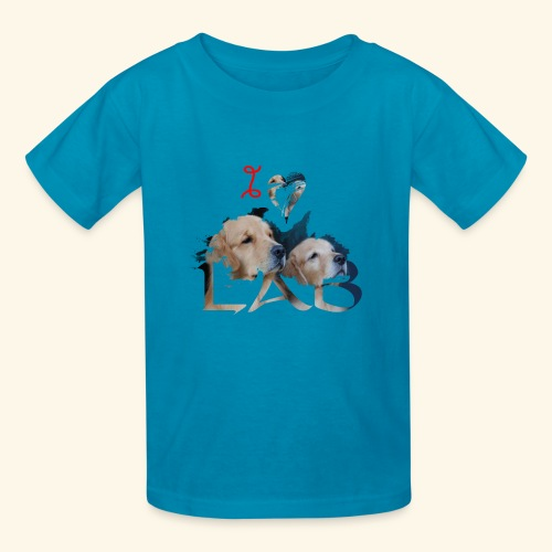 I love Lab - Kids' T-Shirt