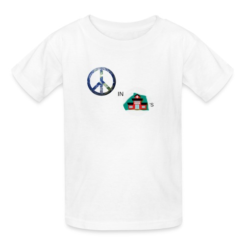 Peace In Schools - Kids' T-Shirt