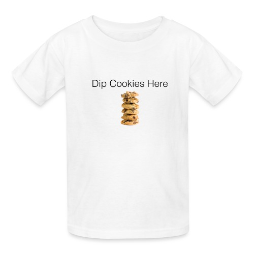 Dip Cookies Here mug - Kids' T-Shirt