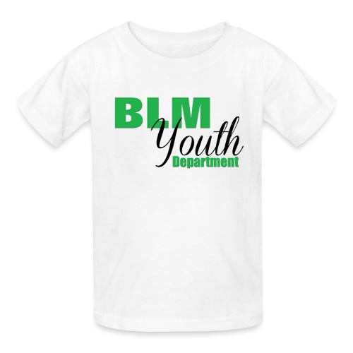 BLM Youth1 - Kids' T-Shirt