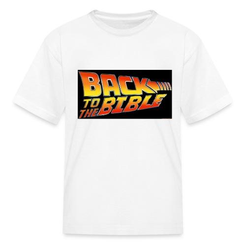 back to the bible tshirt - Kids' T-Shirt