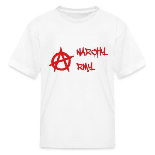 Anarchy Army LOGO - Kids' T-Shirt