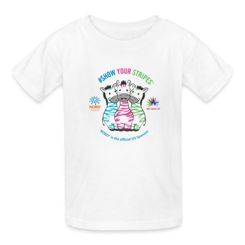 Rare Disease Day #Show Your Stripes - Kids' T-Shirt