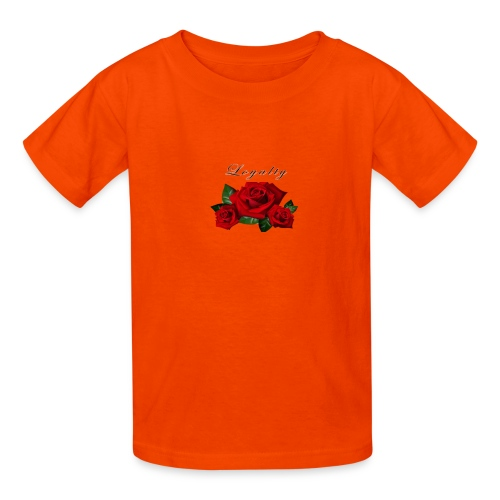 rose shirt - Kids' T-Shirt