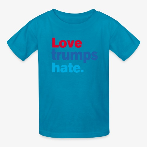 Love Trumps Hate - Kids' T-Shirt