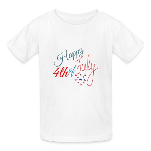 Happy 4th of July - Kids' T-Shirt
