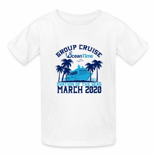 Ocean Time Group Cruise Ovation 2020 - Kids' T-Shirt