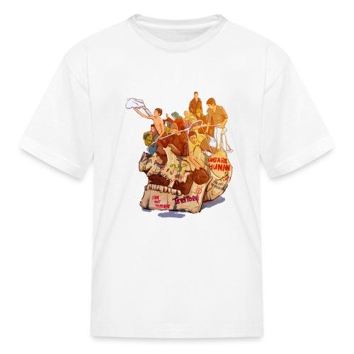 Skull & Refugees - Kids' T-Shirt