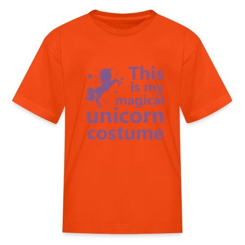 This is my magical unicorn costume - Kids' T-Shirt