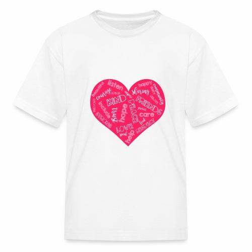 Friends Not Bullies - Kids' T-Shirt
