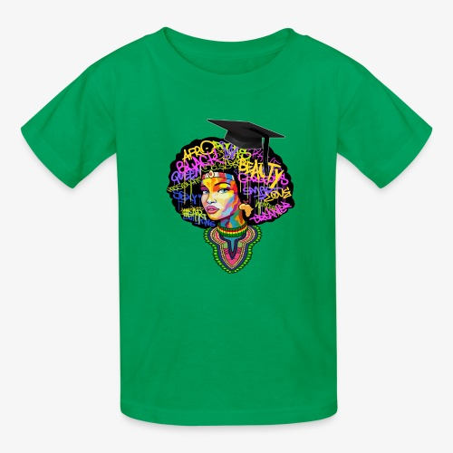 Graduation Melanin Queen Shirt Gift - Kids' T-Shirt