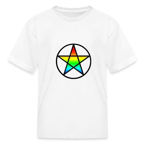 Official Iridescent Tee-Shirt // Men's // White - Kids' T-Shirt