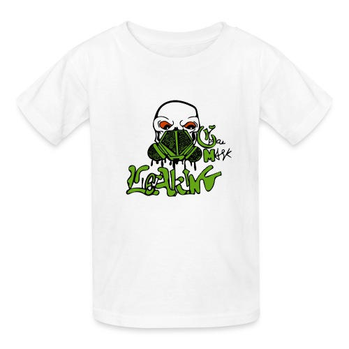 Leaking Gas Mask - Kids' T-Shirt
