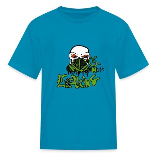 Leaking Gas Mask - Kids' T-Shirt