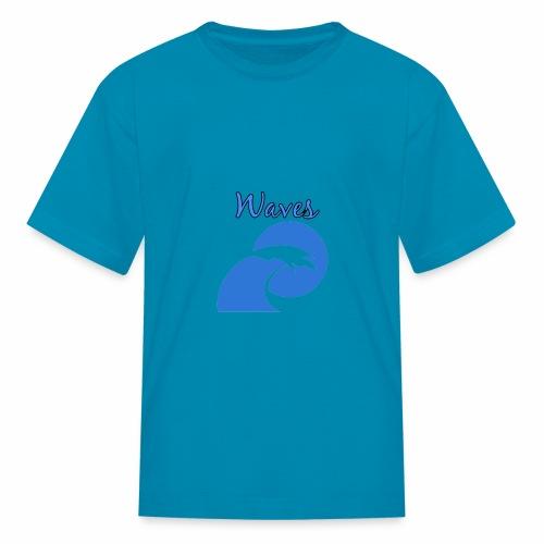 Waves - Kids' T-Shirt