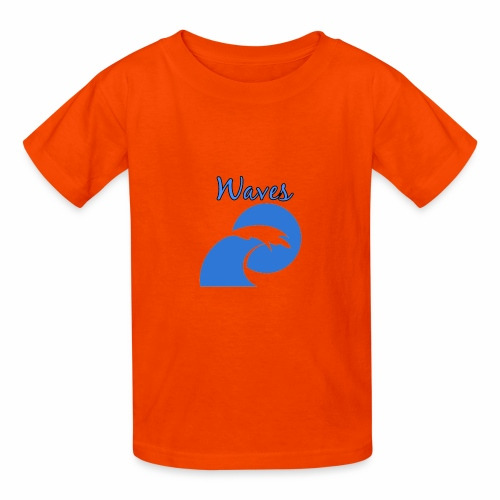 Waves - Kids' T-Shirt
