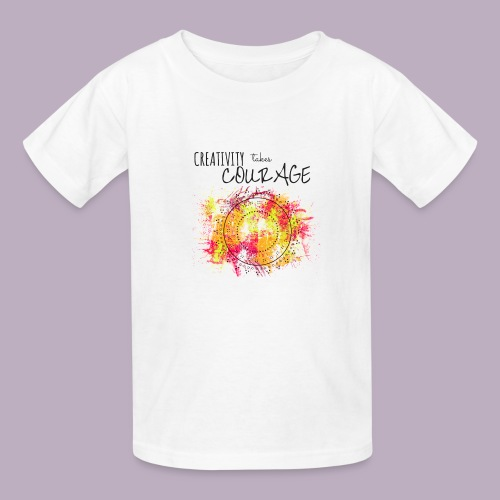 Creativity takes Courage - Kids' T-Shirt