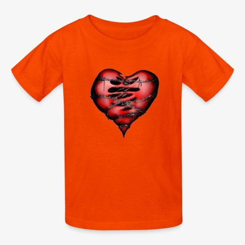 Chains Heart Ceramic Mug - Kids' T-Shirt