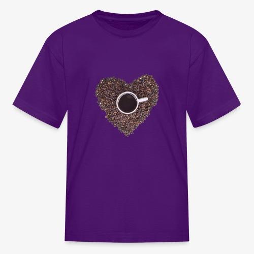 I Heart Coffee Black/White Mug - Kids' T-Shirt