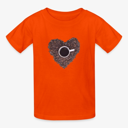I Heart Coffee Black/White Mug - Kids' T-Shirt
