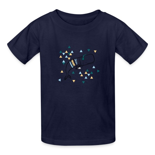 Music Whale - Kids' T-Shirt