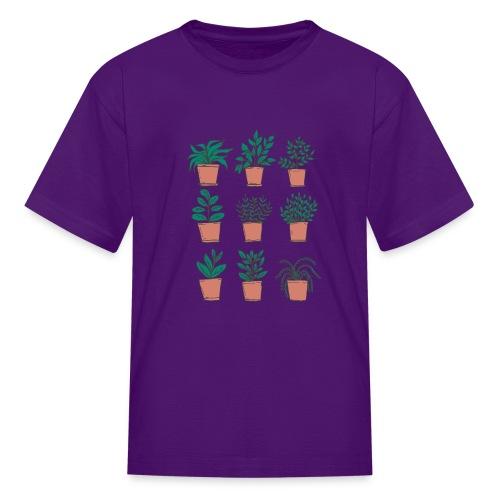 Flowerpots - Kids' T-Shirt
