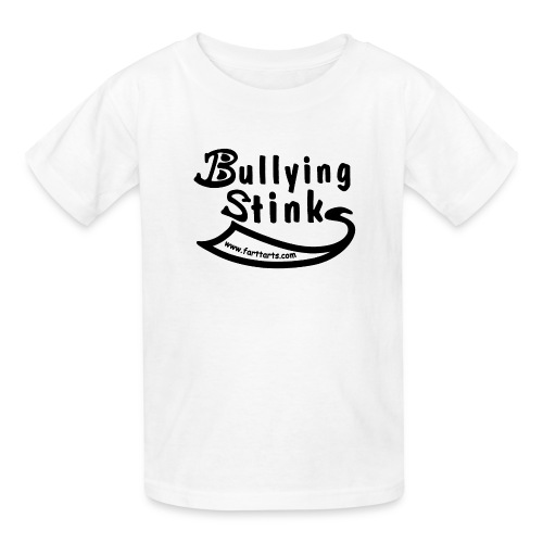 bullying stinks black woutl png - Kids' T-Shirt