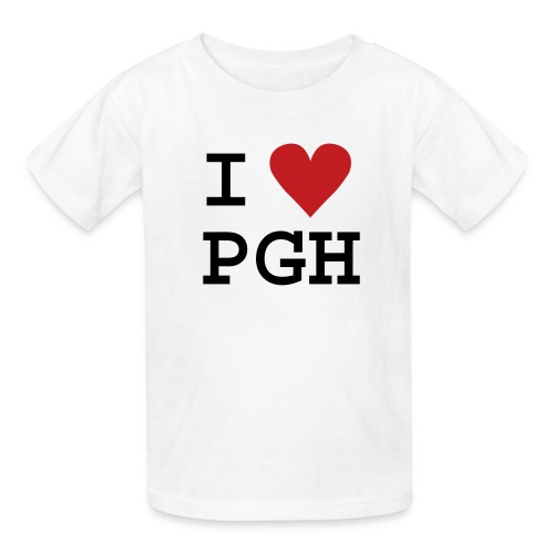 iheartpgh - Kids' T-Shirt