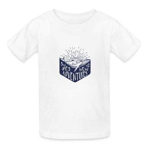 Adventure - Say yes to new adventure Products - Kids' T-Shirt