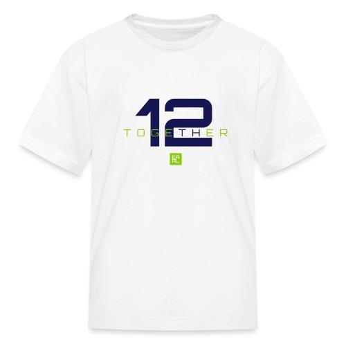 together 2 gray - Kids' T-Shirt