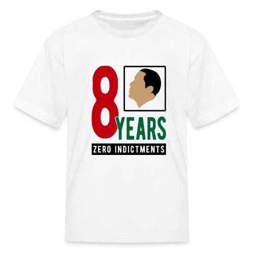 Obama Zero Indictments - Kids' T-Shirt
