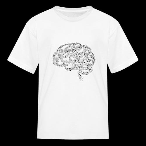 Sound of Mind | Audiophile's Brain - Kids' T-Shirt