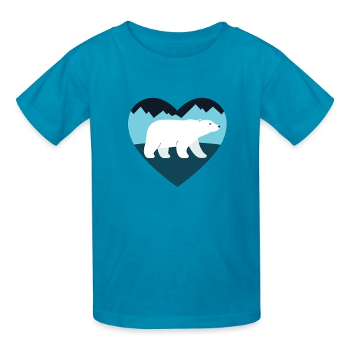 Polar Bear Love - Kids' T-Shirt