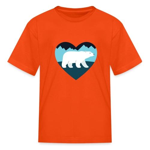 Polar Bear Love - Kids' T-Shirt