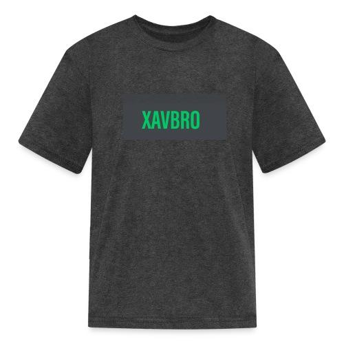 xavbro green logo - Kids' T-Shirt
