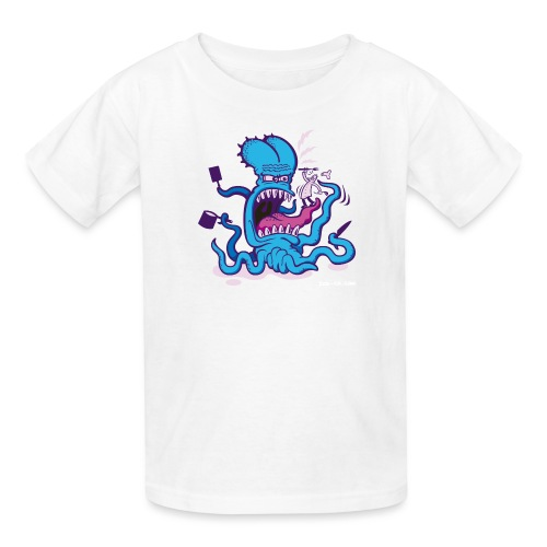 Powder blue Extreme Cooking Long Sleeve Shirts - Kids' T-Shirt